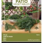 Dille Nano - Buzzy Patio Vegetables